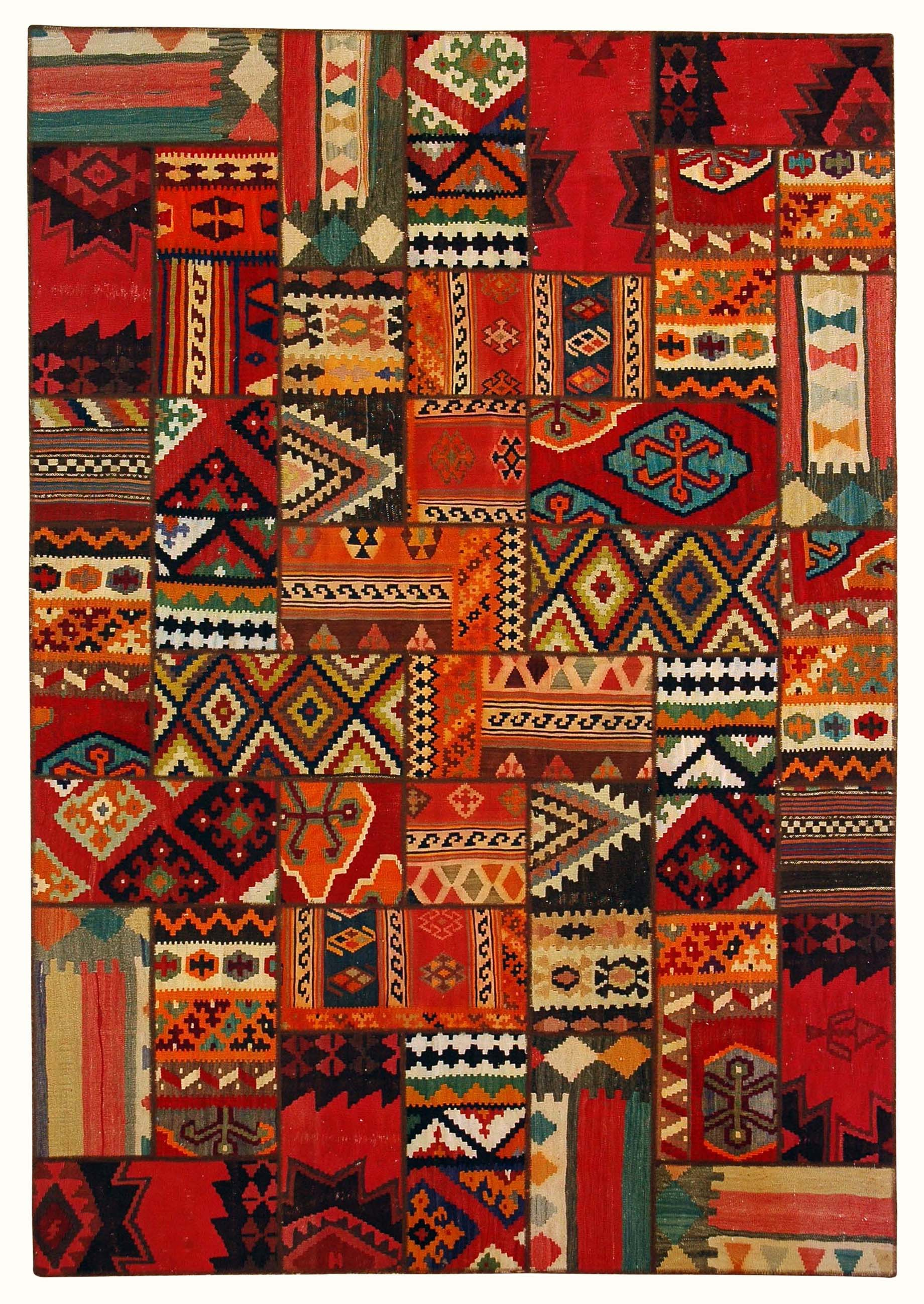 Persian Kilim Collage Persian Kilim Collage Persian